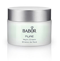 babor pure night cream
