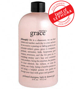 philosophy shower gel amazing grace