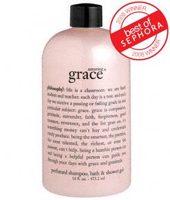 philosophy shower gel amazing grace