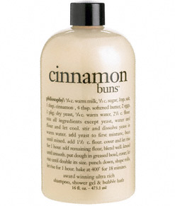 philosophy shower gel cinnamon buns